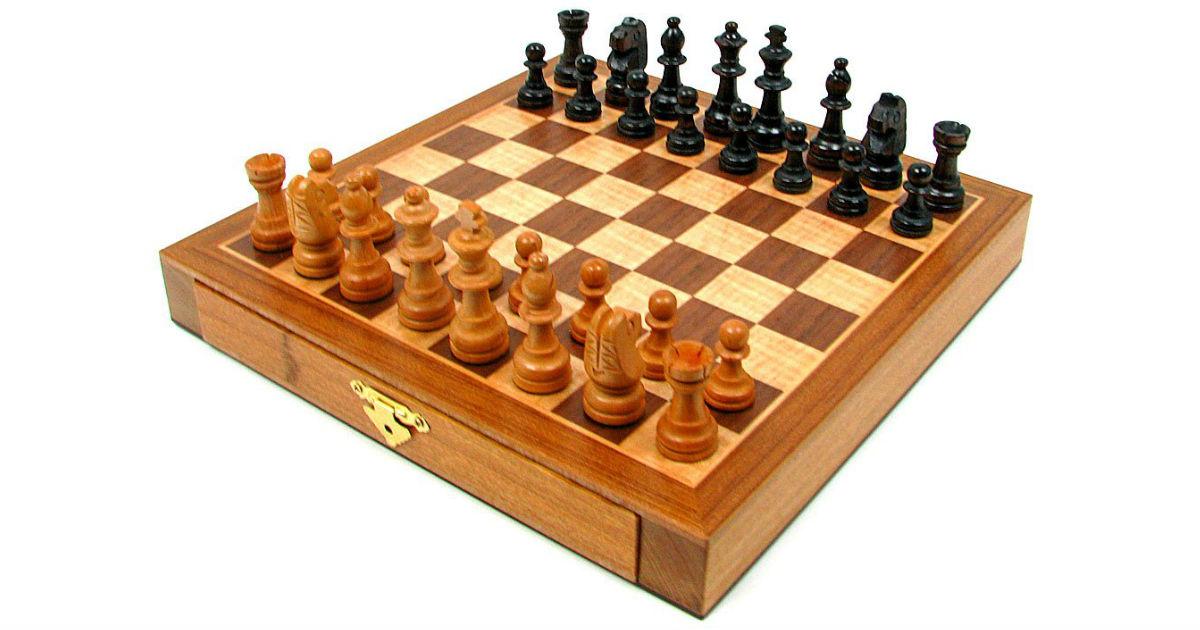 Trademark Games Wood Chessmen ONLY $20.67 (Reg. $60)