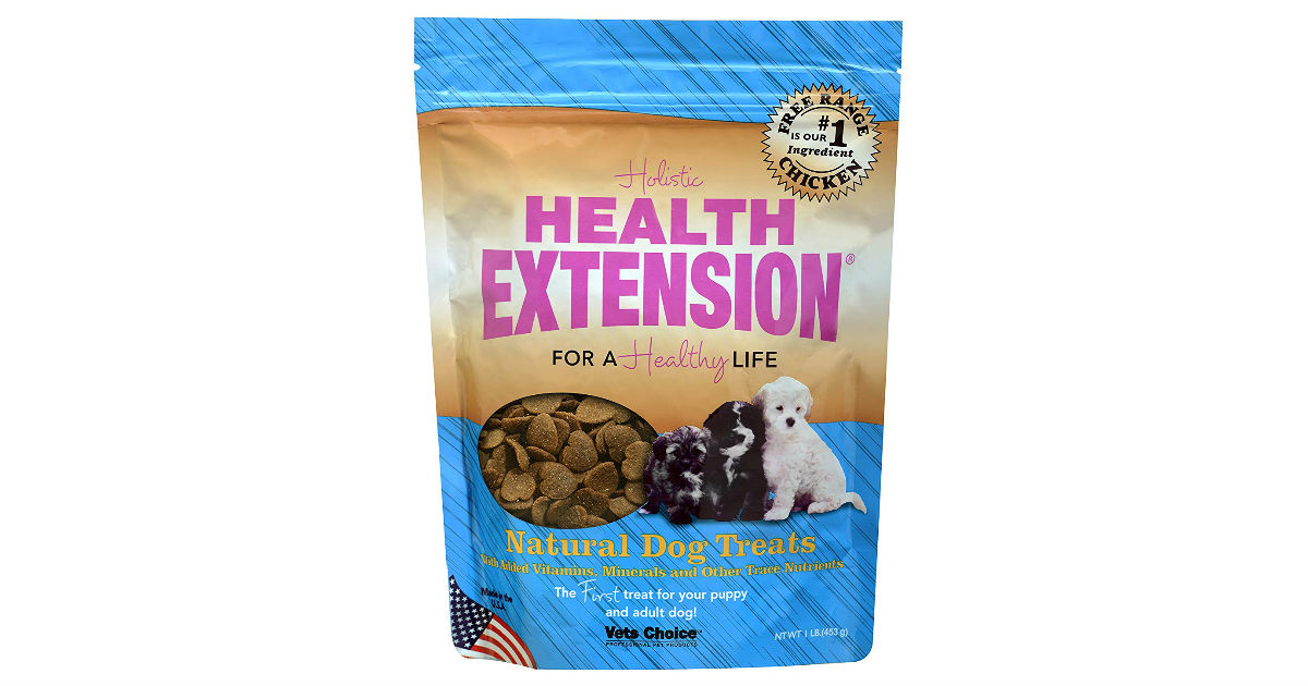 Health Extension Dog Treats ONLY $6.98 (Reg. $16)