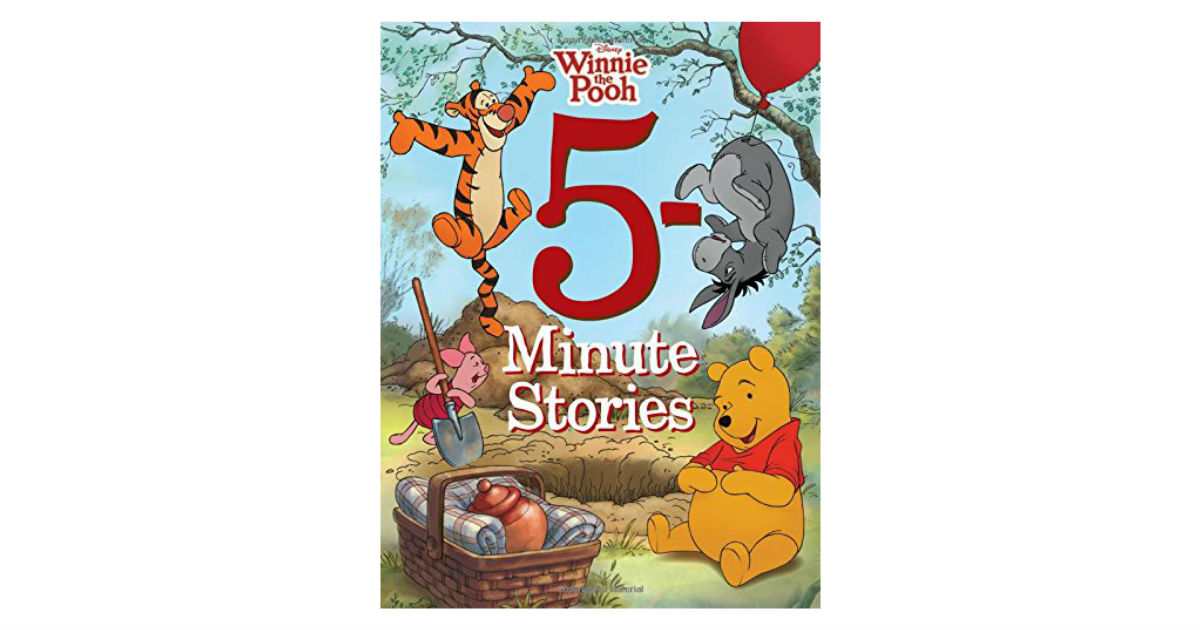 5-Minute Winnie the Pooh Stories ONLY $6.59 (Reg. $13)