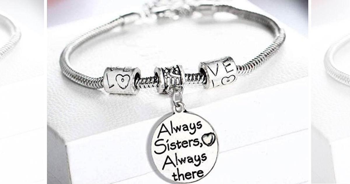 Stainless Steel Expendable Charm Bracelet ONLY $3 Shipped