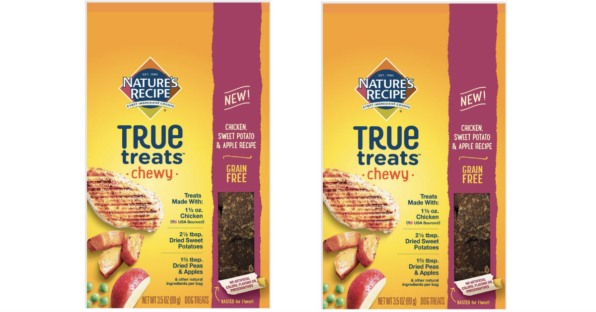 Nature's Recipe True Treats Dog Treats ONLY $3.23 at Walmart