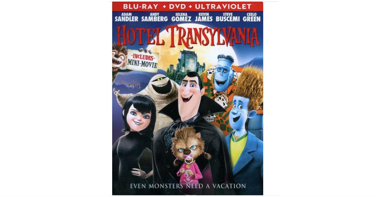 Hotel Transylvania Blu-ray/DVD Digital ONLY $4.99 (Reg $10)