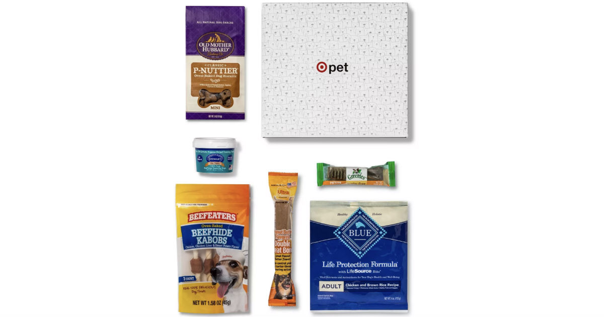 Target Pet Box for Dogs or Cats ONLY $5 (Reg $10)