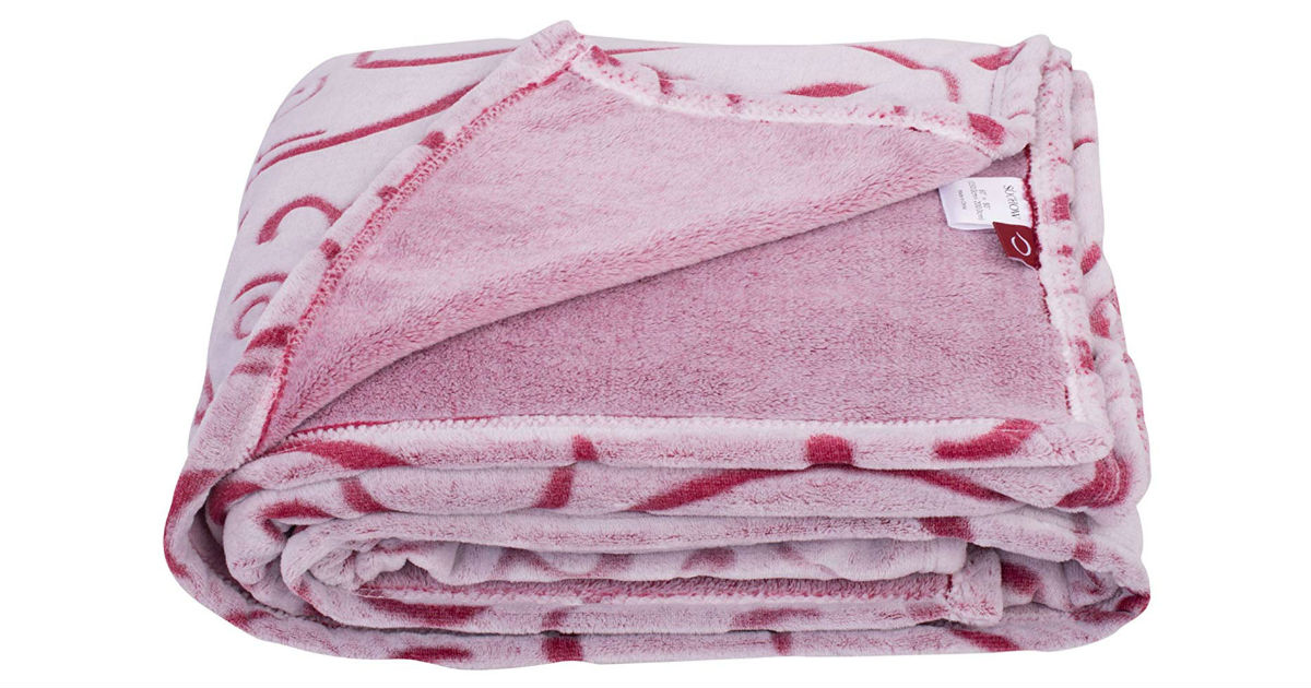 Fleece Throw Blanket ONLY $9.89 (Reg. $20)