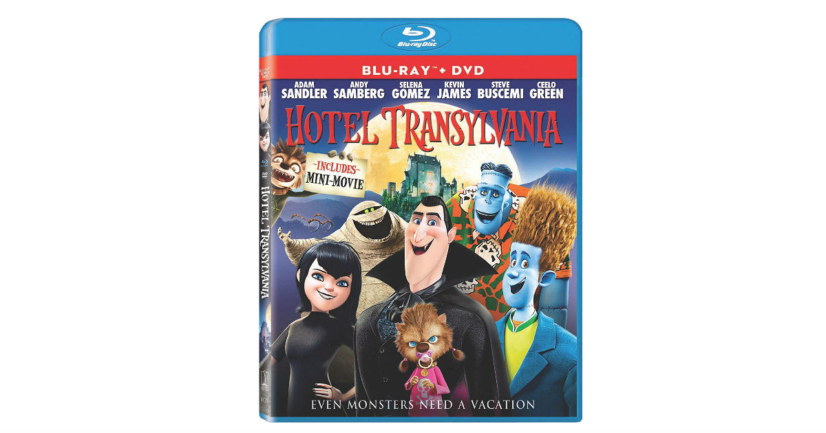 Hotel Transylvania Blu-ray + Digital ONLY $4.99 (Reg. $15)