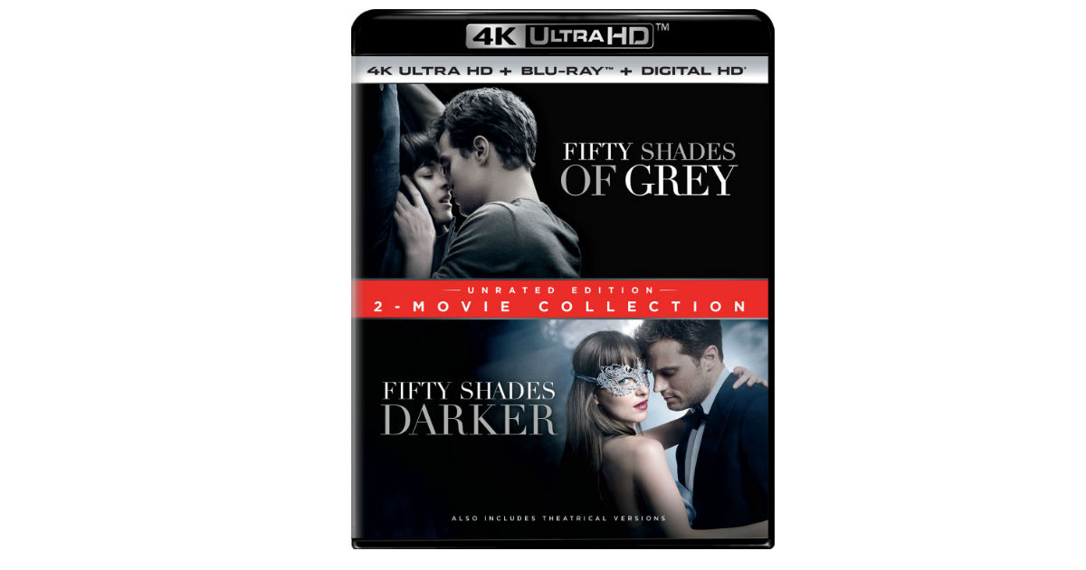 Fifty Shades of Grey 4K Ultra HD 2-Movie Collection ONLY $14.99