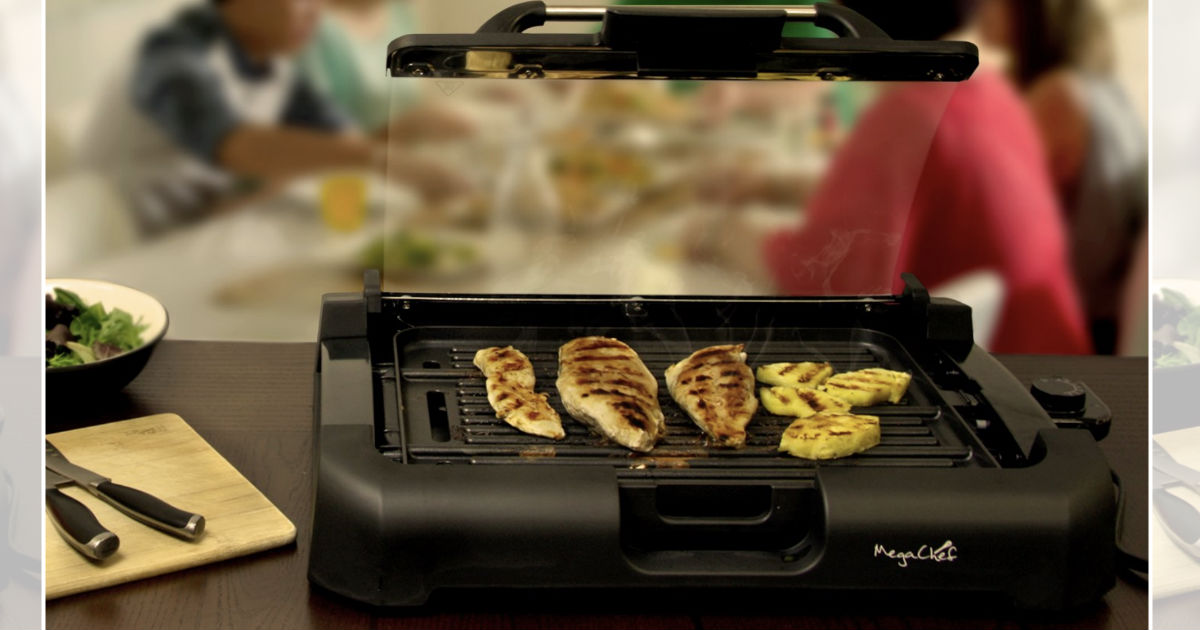 Megachef Reversible Indoor Grill & Griddle ONLY $27.80 (Reg $60)