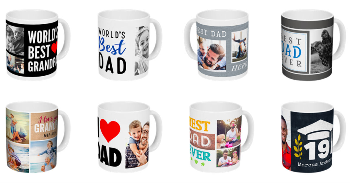Free Photo Mug ($11.99 Value) - Perfect Father's Day Gift