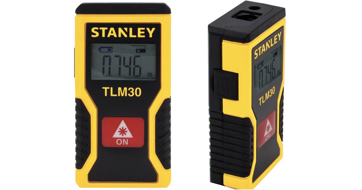 Stanley 30-Ft Pocket Laser Distance Measure ONLY $16.24 (Reg $20)