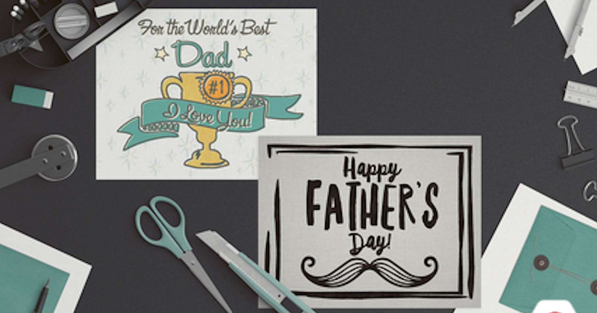 FREE Printable Father's Day Ca...