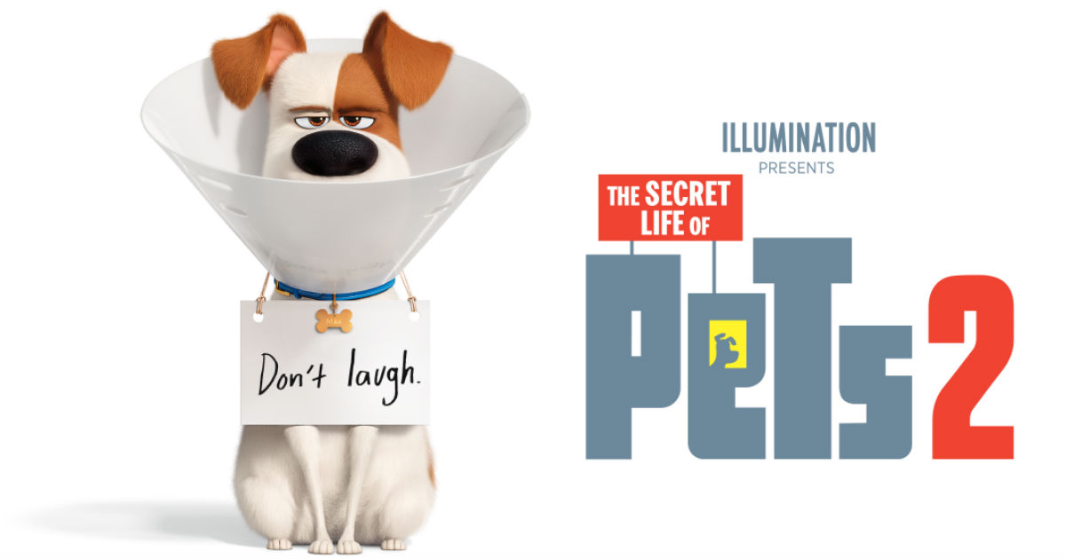 FREE The Secret Life of Pets 2 Movie Ticket