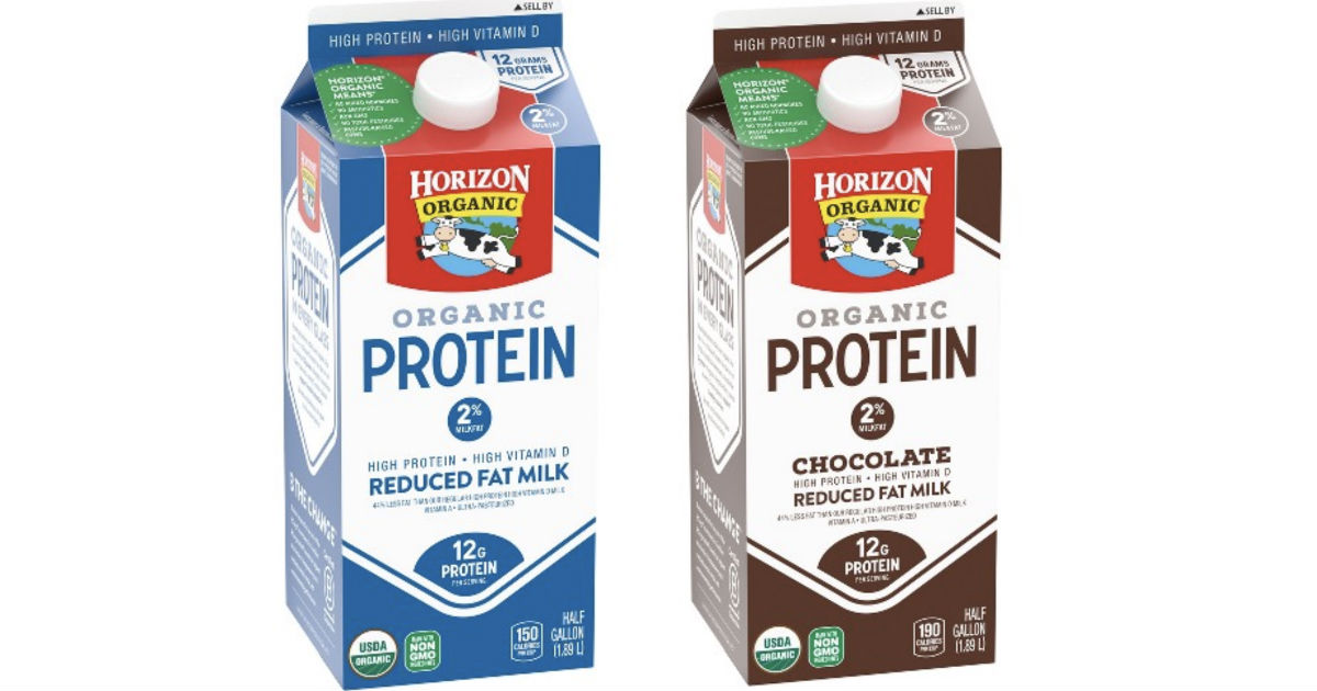 FREE Half Gallon Horizon Organic Protein Milk at Walmart