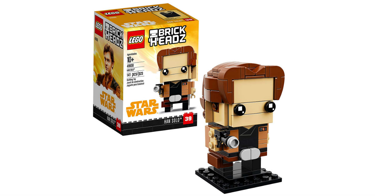 LEGO BrickHeadz Han Solo on Amazon