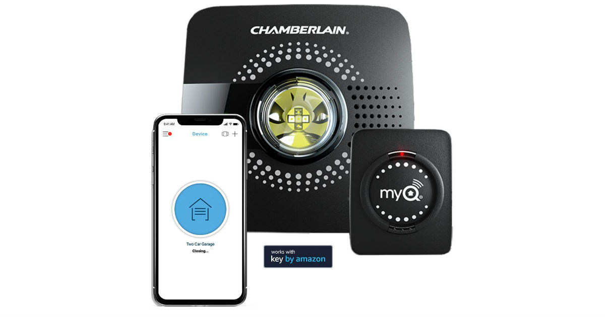 MyQ Smart Garage Door Opener ONLY $39.98 (Reg. $80)