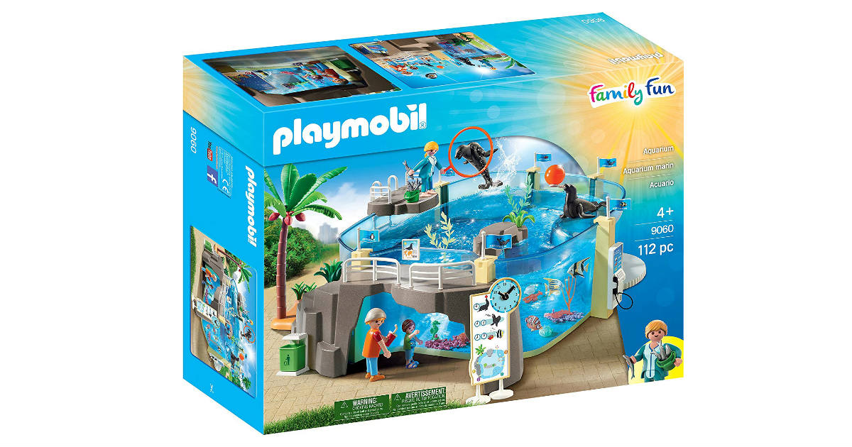 Playmobil Aquarium Building Set ONLY $32.99 Shipped (Reg. $60)