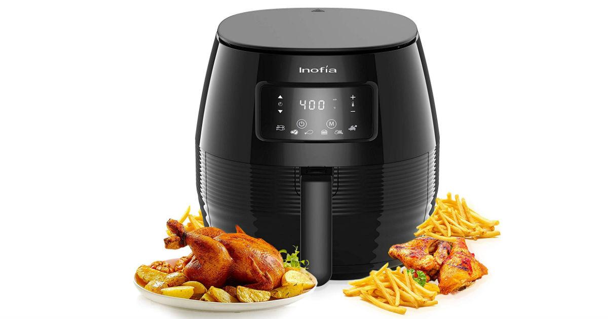 Inofia 5-Liter Air Fryer ONLY $89.99 (Reg. $200)
