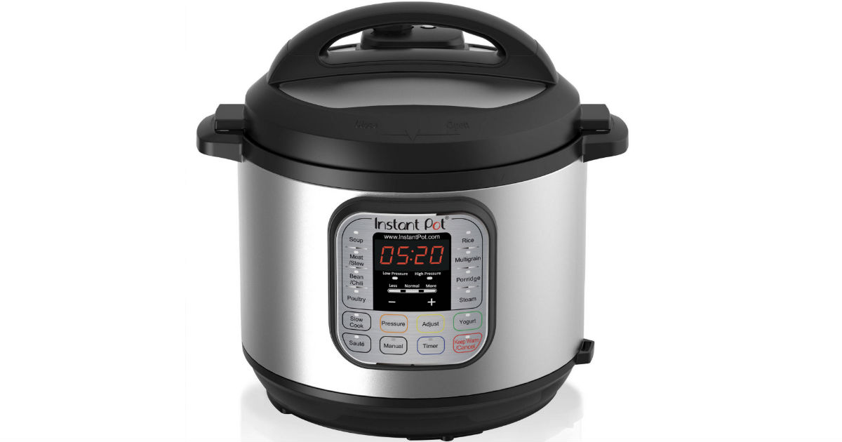 Instant Pot 6 Quart Pressure Cooker ONLY $59.95 (Reg $100)