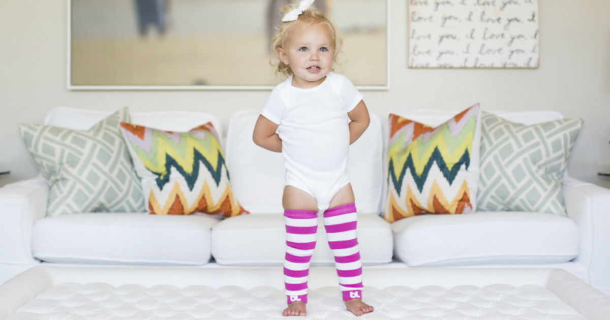 5 Pairs of Baby Leggings Only $2.00