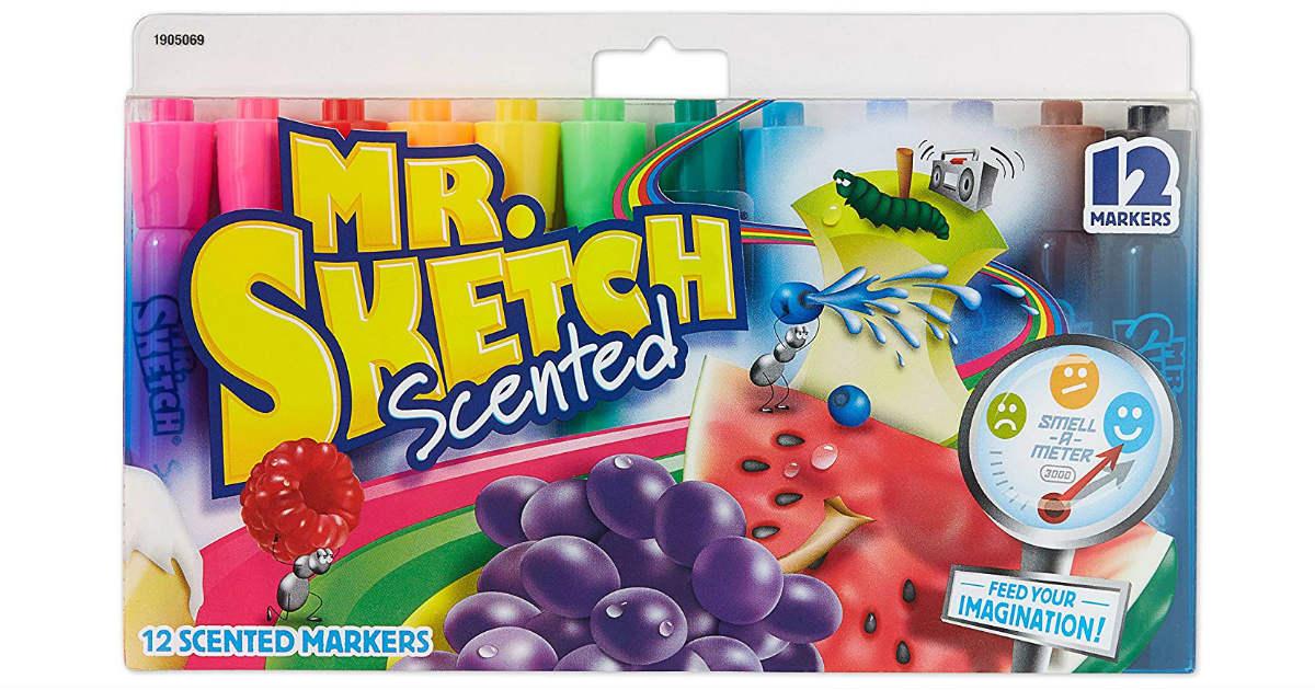 Mr. Sketch Markers 12-Pack ONLY $4.95 (Reg. $10)