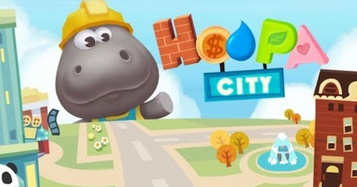 FREE Dr. Panda Hoopa City App.
