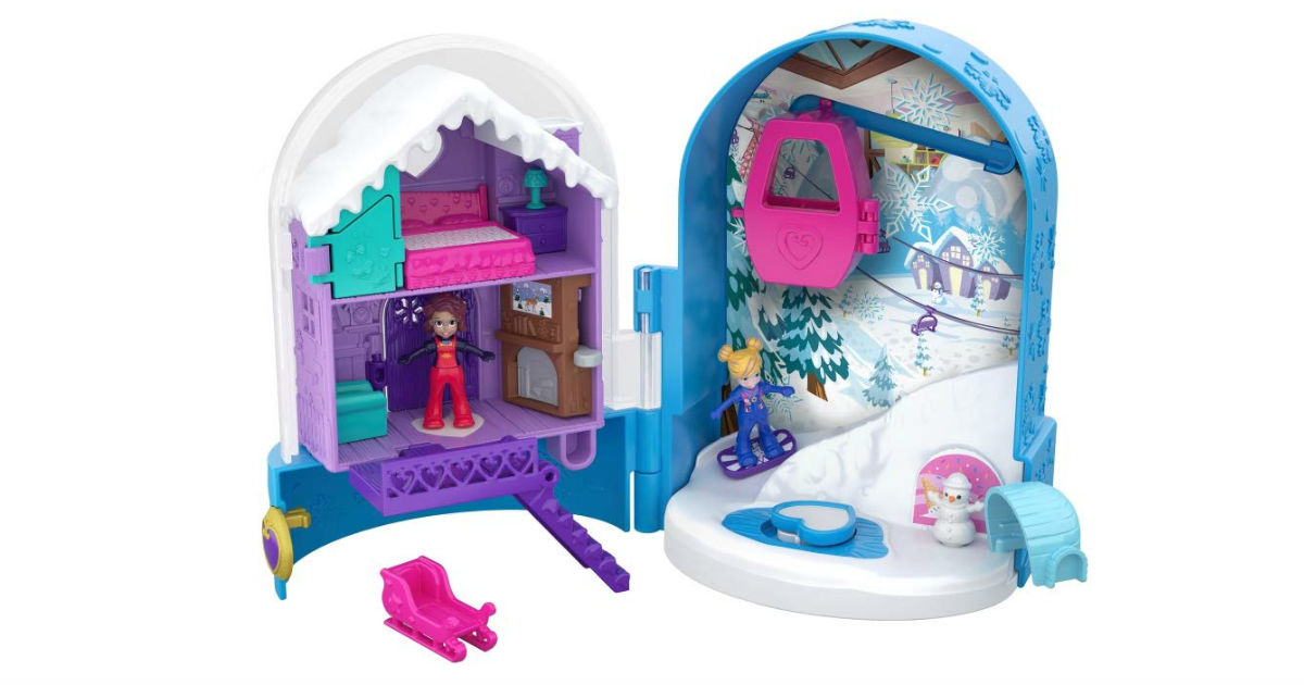 Polly Pocket Snow Globe ONLY $7.62 (Reg. $15)