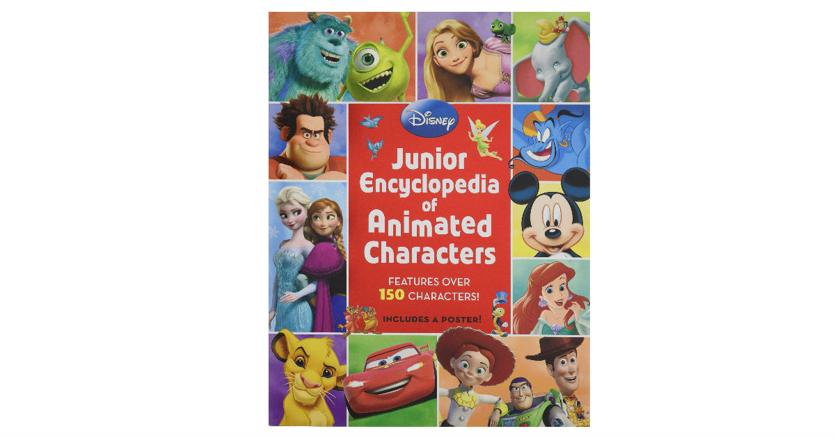 Junior Encyclopedia of Animated Characters ONLY $6 (Reg. $13)