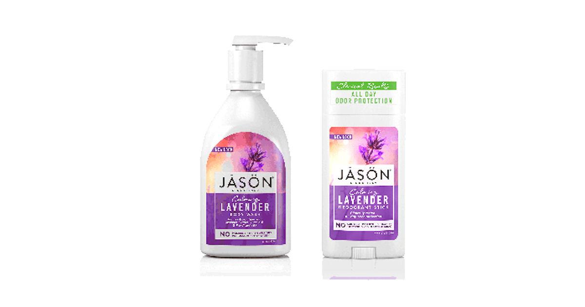 Possible Free Jason Lavender Body Wash & Deodorant - Free Product