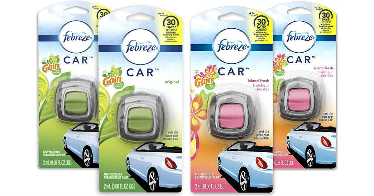 Febreze Car Air Freshener 4-ct ONLY $7.73 Shipped