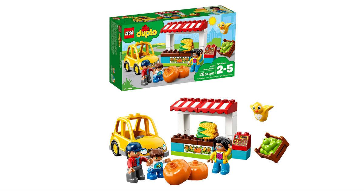 LEGO Duplo Town Farmers Market ONLY $11.99 (Reg. $20)