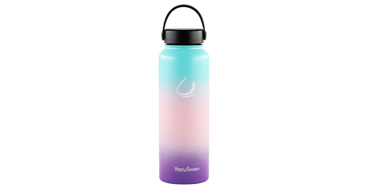 VacuSwan Insulated Water Bottle ONLY $16.14 (Reg. $37)
