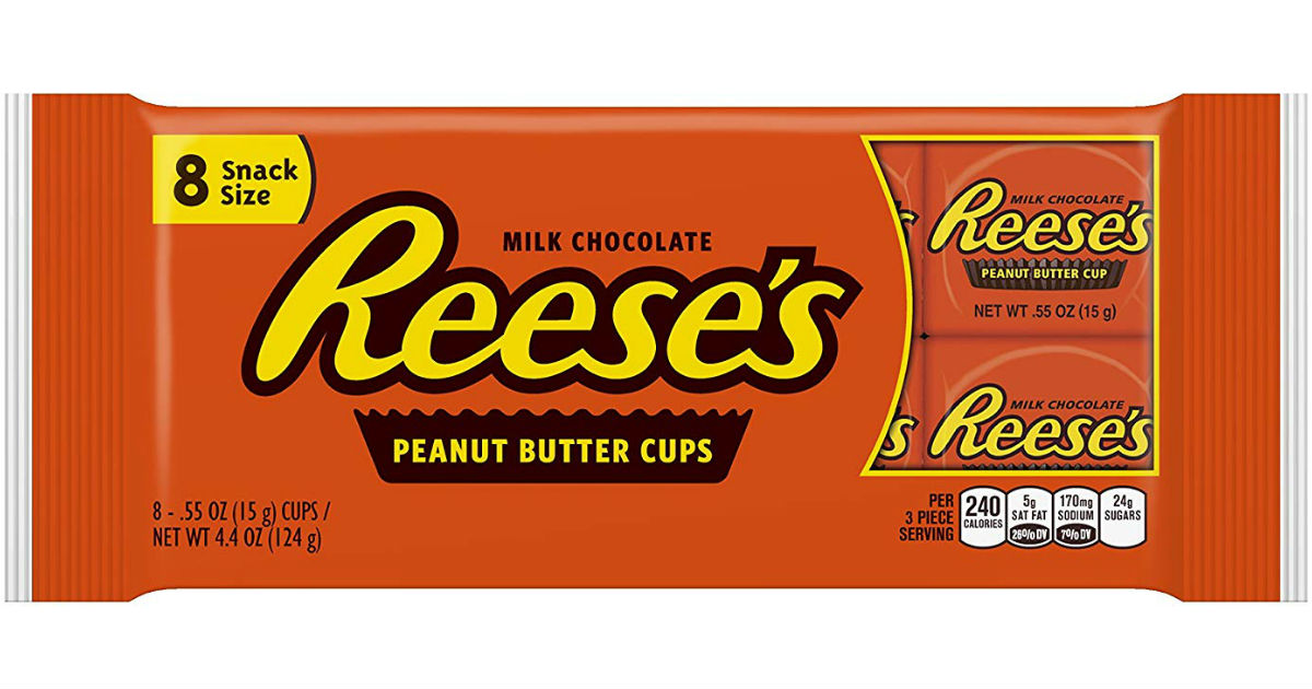 Hershey's 8-Pack Snack Size Candy Bars ONLY $0.88 at CVS