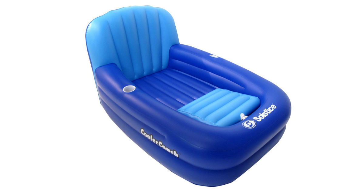 Solstice Cooler Couch Pool Lounger ONLY $39.99 (Reg. $126)