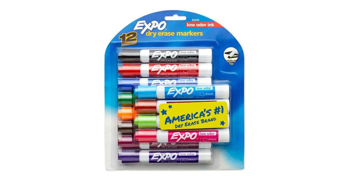 Expo Dry Erase Markers 12-Count ONLY $9.29 (Reg. $18)
