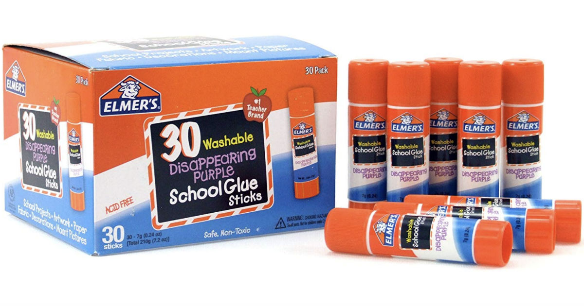 Elmer's Glue Sticks 60-Count ONLY $13.26 (Reg $15)