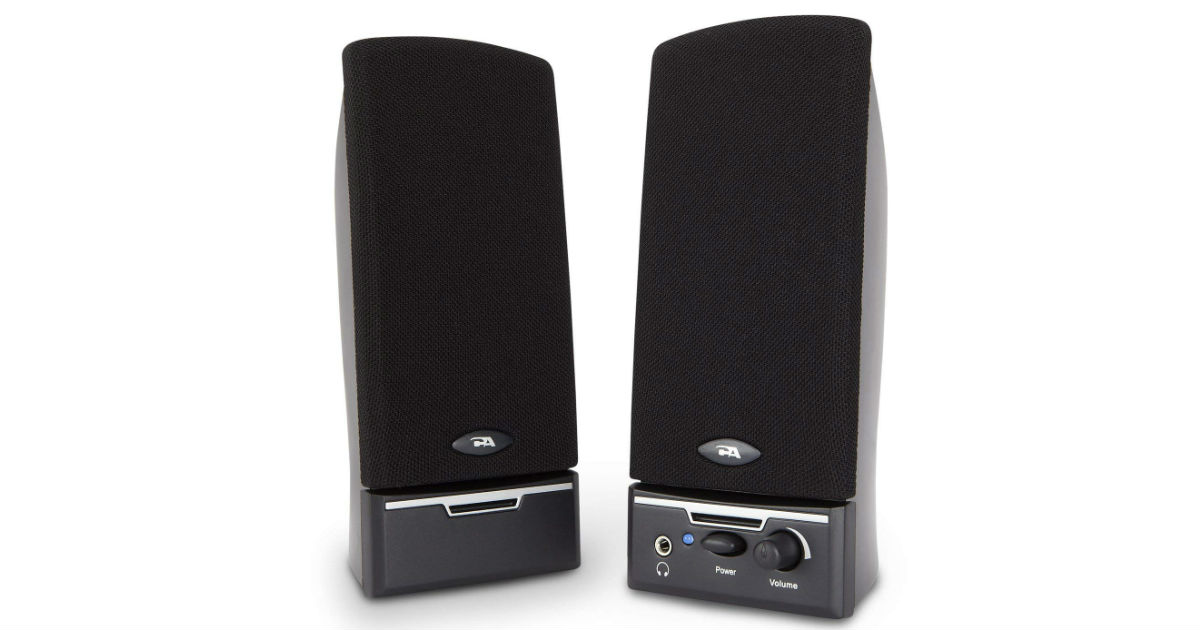 Cyber Acoustics Computer Speakers ONLY $10.88 (Reg. $22)