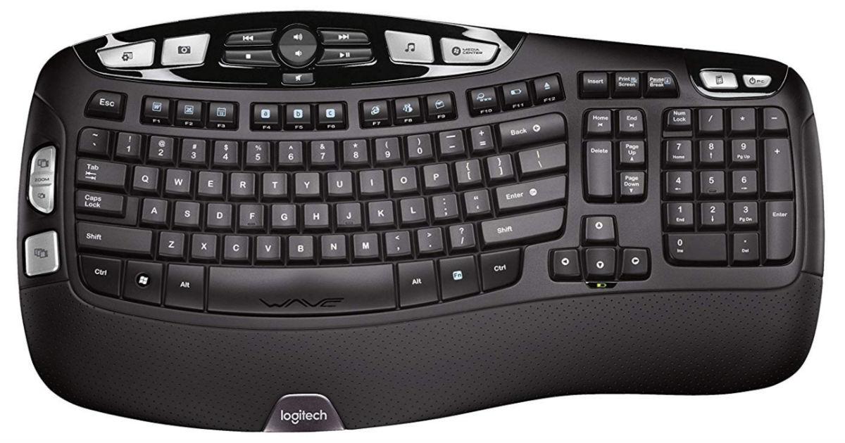 Logitech K350 2.4Ghz Wireless Keyboard ONLY $19.98 (Reg $60)