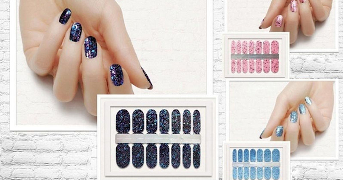 FREE DIY Nail Polish Strips