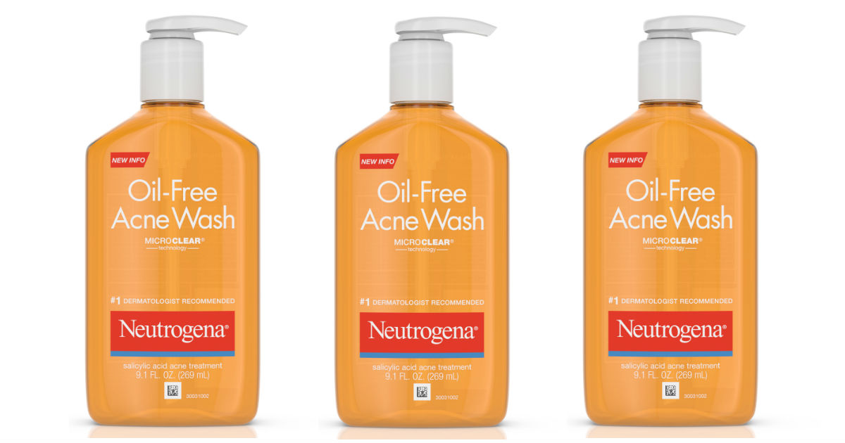 Neutrogena Oil-Free Acne Wash Only $2.37 at CVS (Reg. $8.59)
