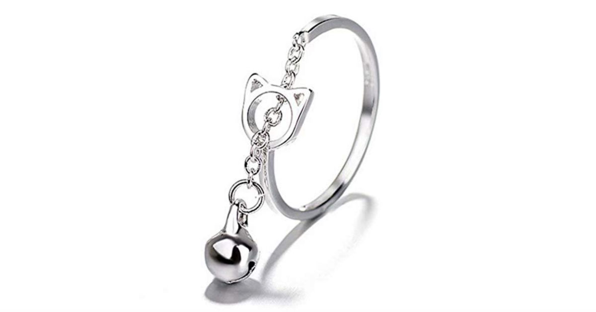 Cute Cat Ring ONLY $3 Shipped on Amazon