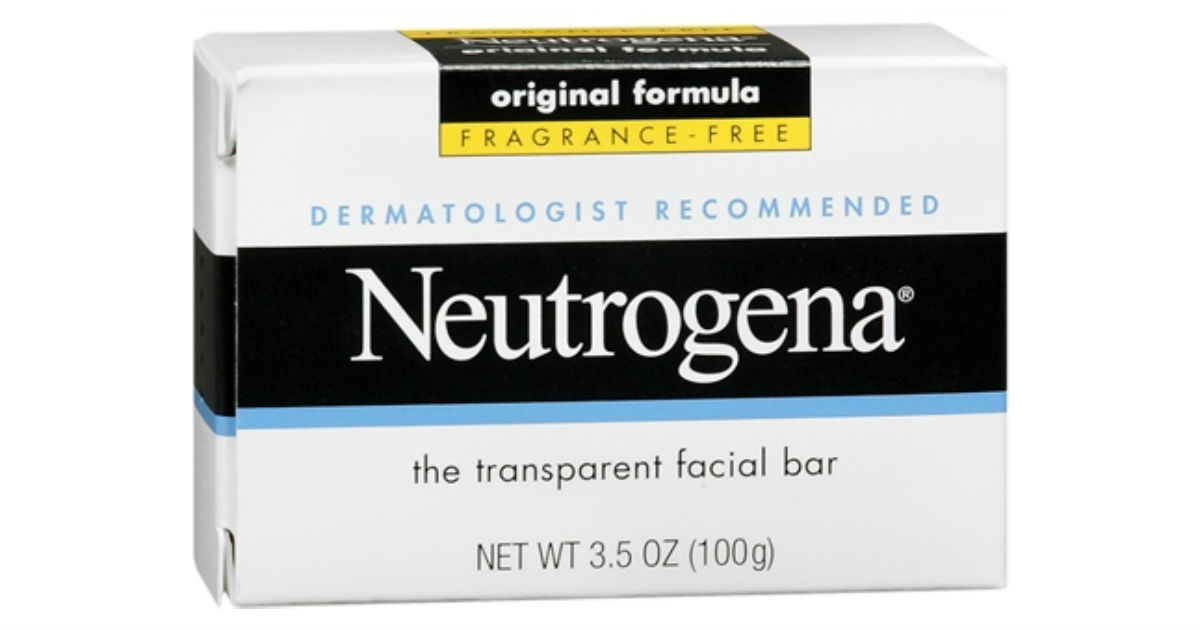 Neutrogena Facial Cleansing Bar Fragrance-Free Only $0.39 at CVS