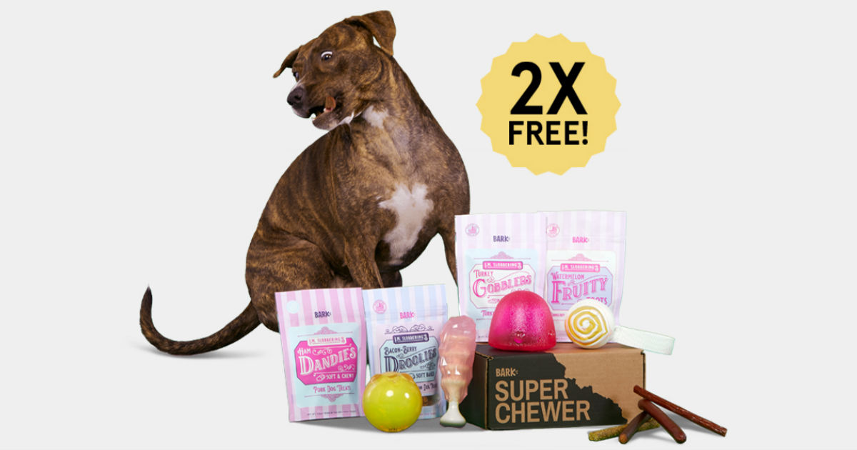 This Week Only: Double First Super Chewer Box + Free Shipping
