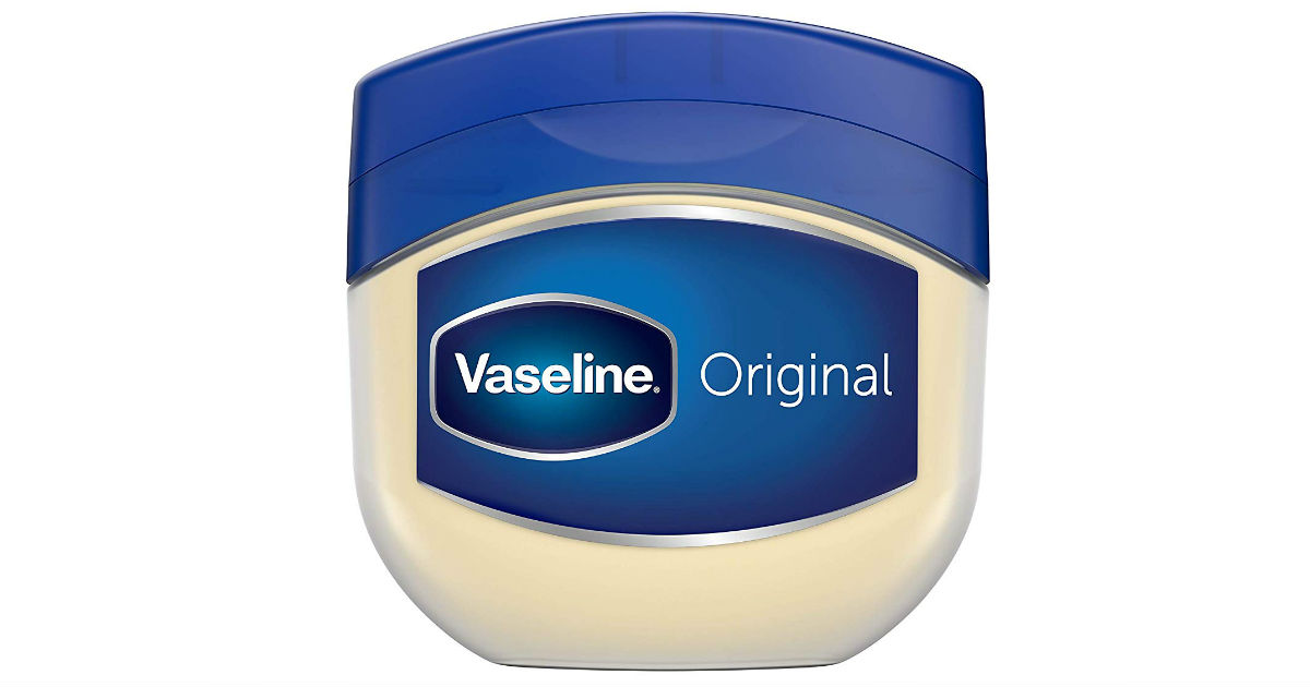 Vaseline Original Petroleum Jelly Skin Protectant ONLY $0.99