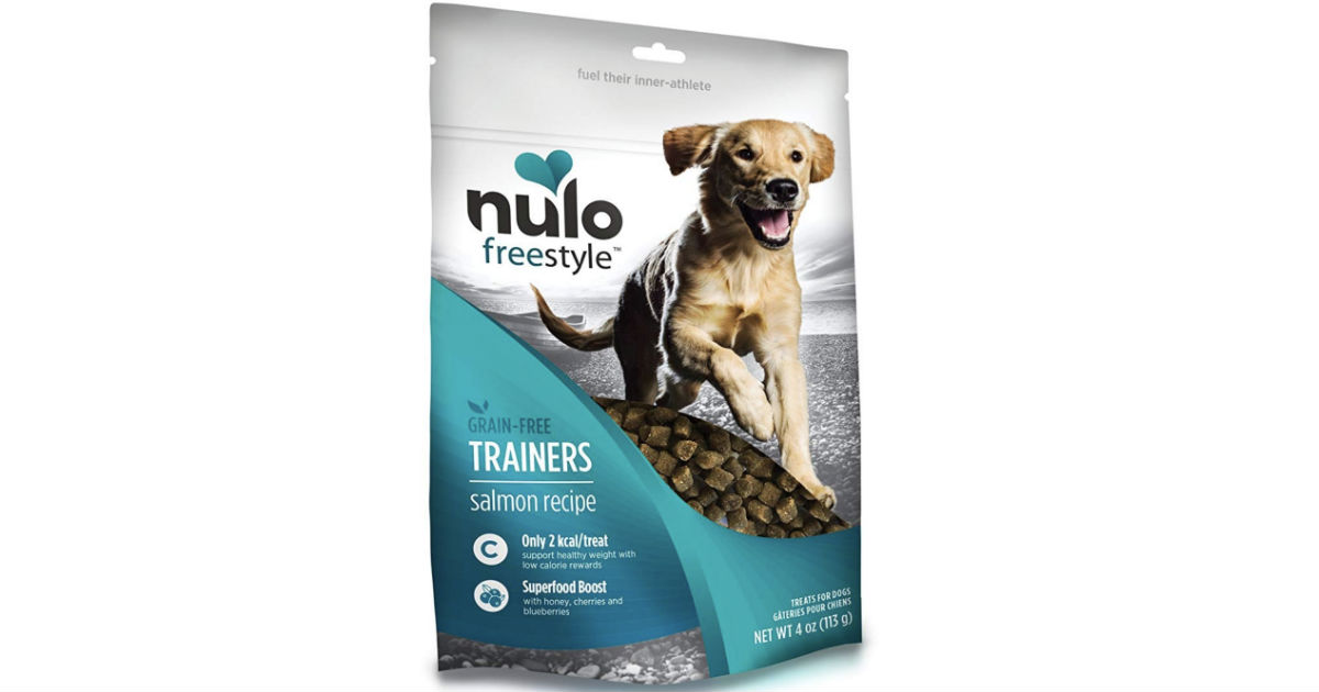 Nulo Puppy & Adult Freestyle Trainers Dog Treats ONLY $3.99