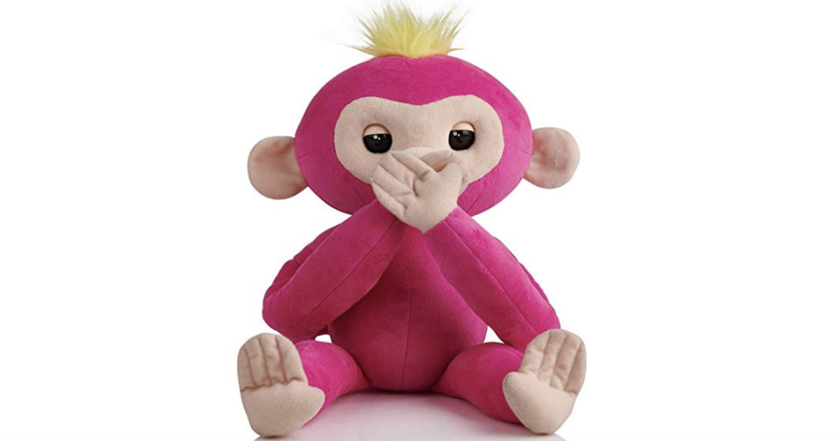 WowWee Fingerlings HUGS Bella Pink ONLY $9.49 (Reg $30)