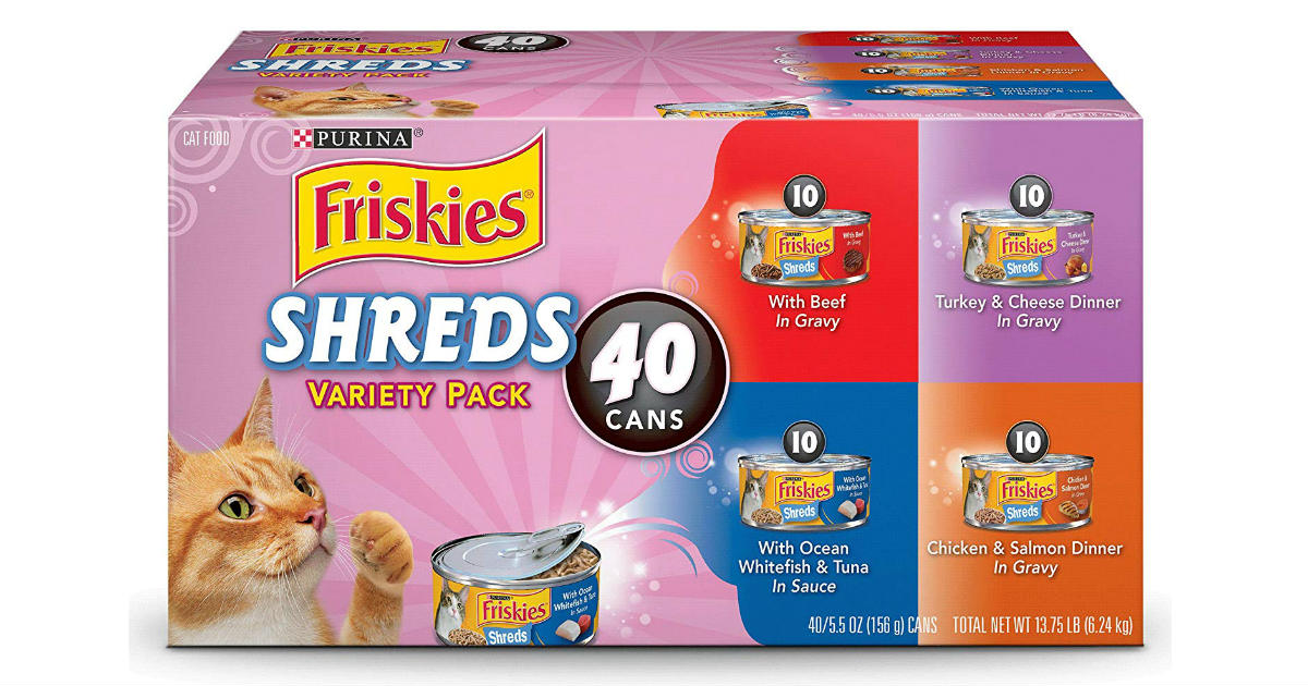 Friskies Variety Pack ONLY $16.25 (Reg. $24)
