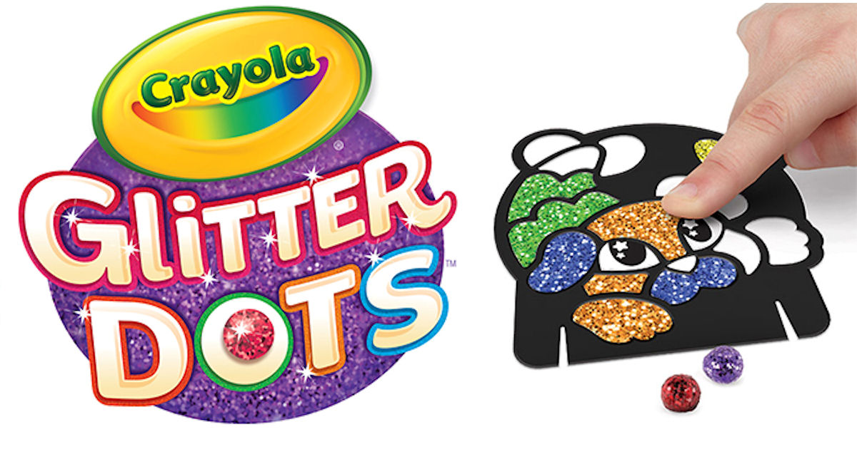 Free Crayola Glitter Dots Party - Free Product Samples
