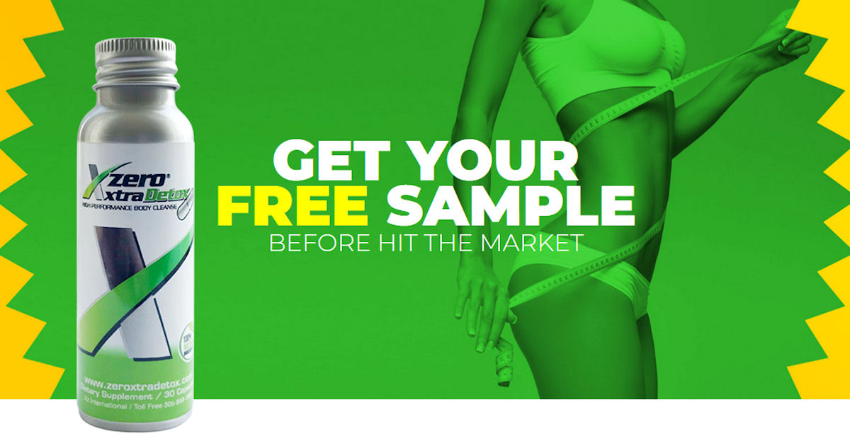 FREE Sample of Zero Xtra Detox...