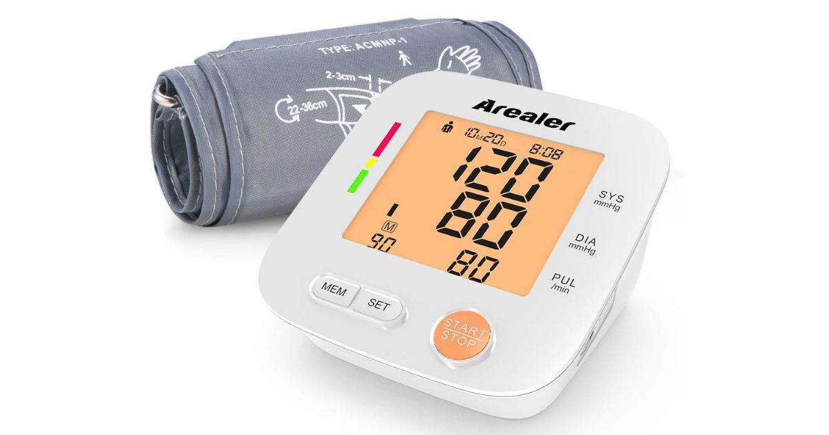 Digital Blood Pressure Monitor ONLY $19.99 (Reg. $33)