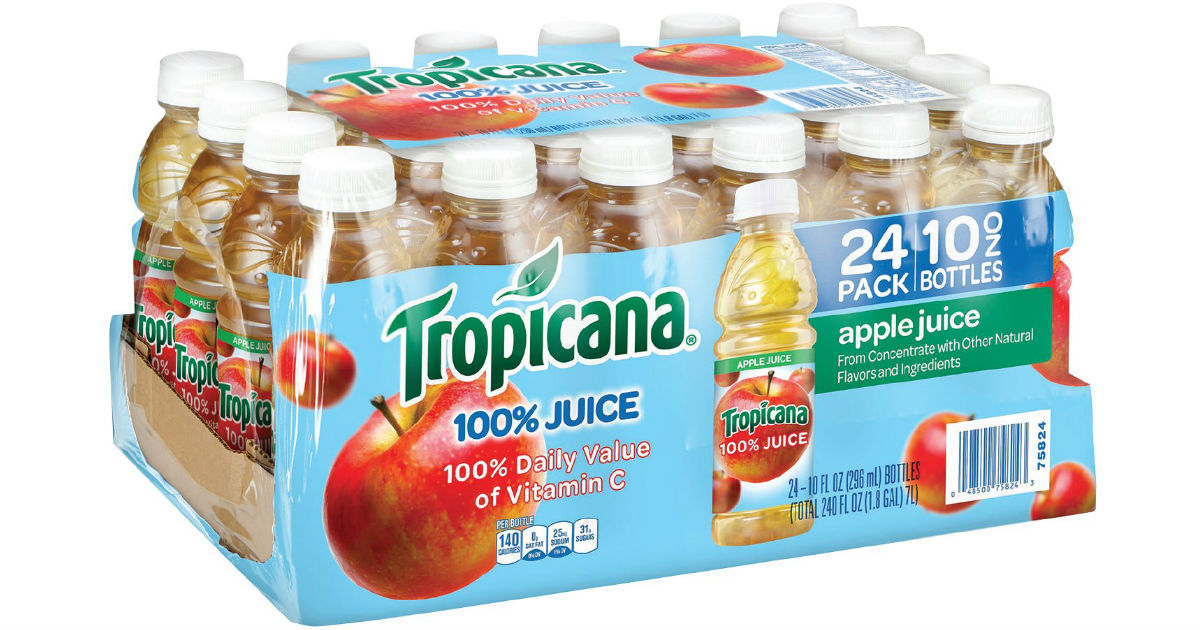 Tropicana Apple Juice 24-Pack ONLY $9.37 Shipped