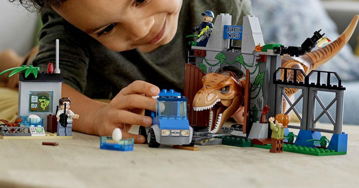 LEGO Junior Jurassic World ONLY $32.99 (Reg. $50)